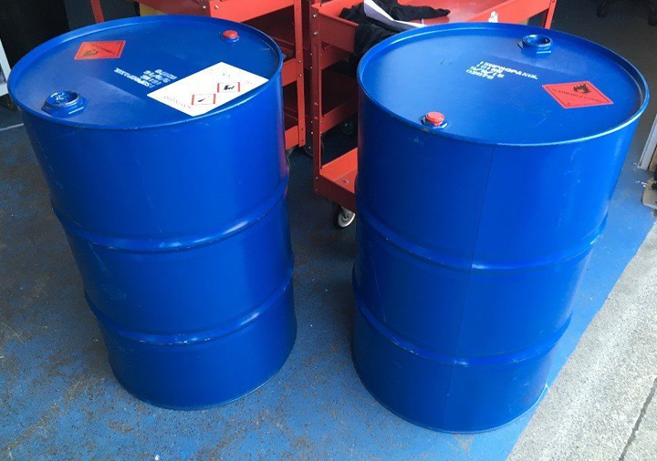 Chemical waste removal in South East