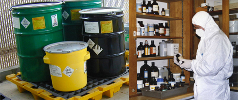 hazardous waste management in the south east